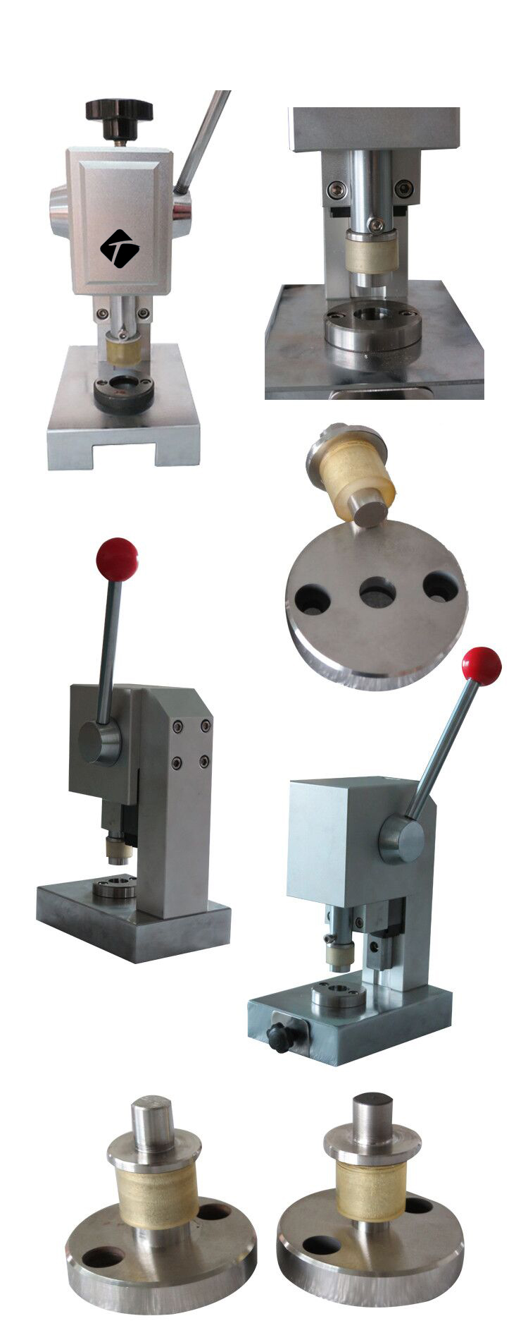 Battery Lab Manual Die Punching Cutter For Coin Cell