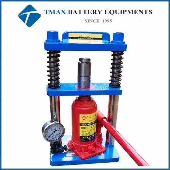 Battery 10 Ton small manual powder press machine for lab