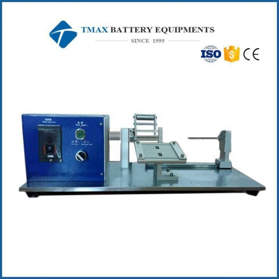 Battery Manual 18650 Battery Electrode Winding Machine For