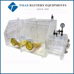 Battery Laboratory Transparent Acrylic Vacuum Glove Box With
